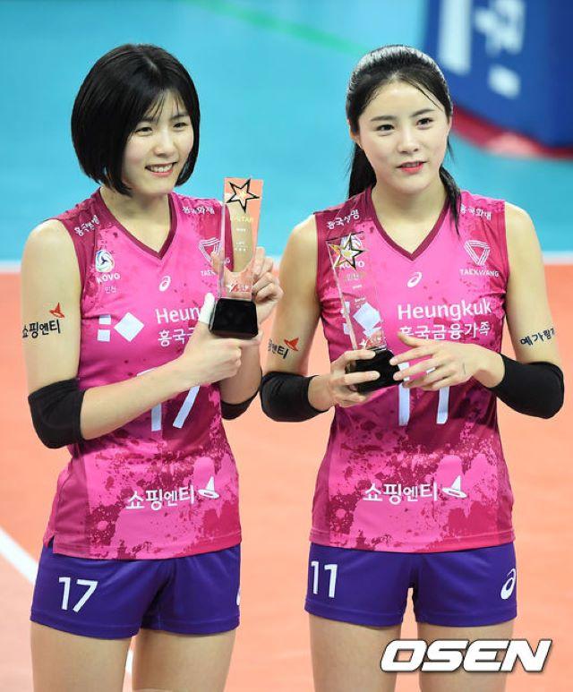 バレー 双子 韓国